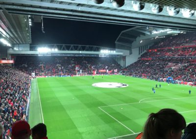 Champions League- Liverpool vs Bayern