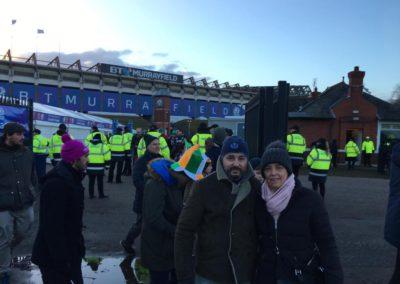 Foto de nuestros amigos en el Estadio