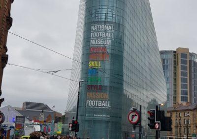 El Museo Nacional de Futbol de Manchester