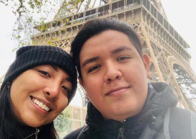Selfie en la Torre Eiffel