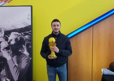 Tocando un tesoro, la Copa del Mundo de Inglaterra