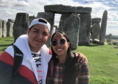 Visita al Stonehenge en Inglaterra