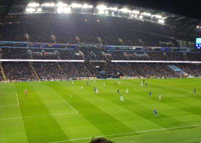 Vista panorámica del Etihad Stadium