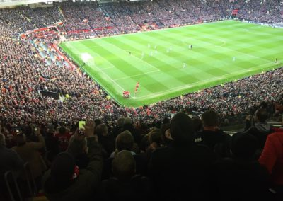Old Trafford - Derbi de Manchester - United vs City